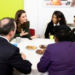 The Duchess Of Cambridge Visits Family Action's Lewisham Base