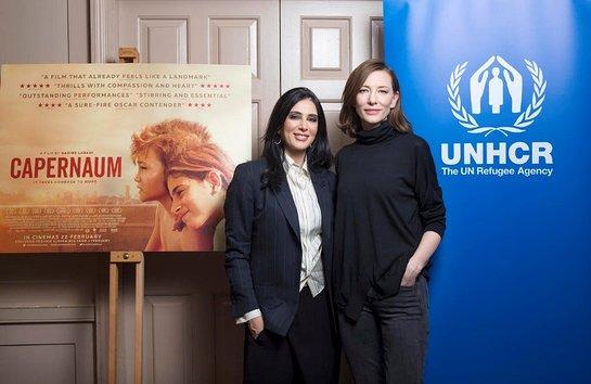Nadine Labaki and Cate Blanchett