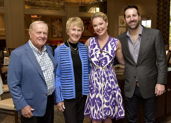 Jack Nicklaus, Barbara Nicklaus, Katherine Heigl, Josh Kelley