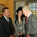 Beverly Hills Couple Meet Prince Charles At Health Facility Opening