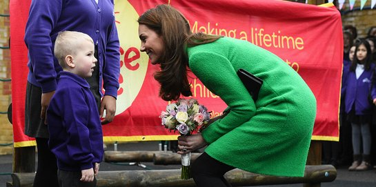 Duchess of Cambridge Visits Schools In Support Of Mental Health