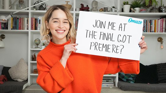 Be Emilia Clarke's Hand of the Queen at the Final Game of Thrones Premiere