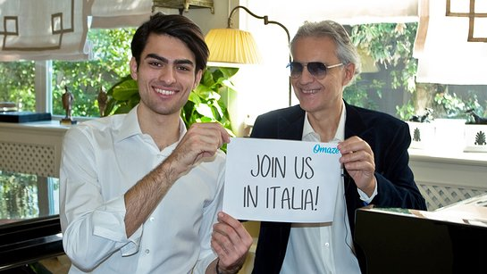 Visit Andrea Bocelli at His Vineyard in Tuscany