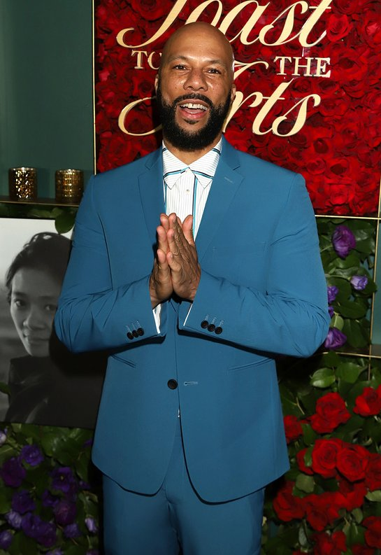 Common attends Common's 5th Annual Toast to the Arts at Ysabel