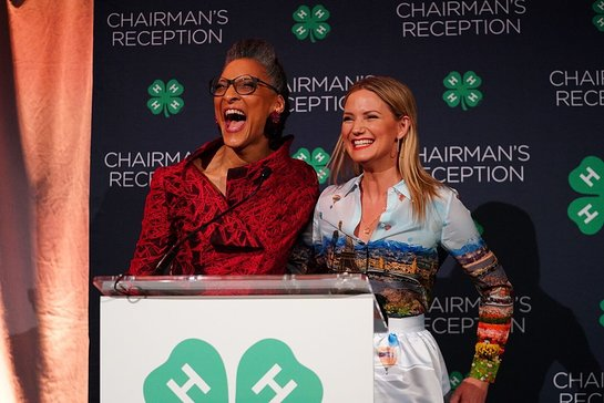 Carla Hall kicks off the 2019 4-H Legacy Awards with Jennifer Nettles