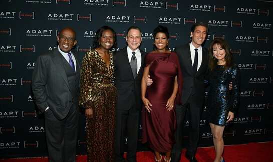 Al Roker and Deborah Roberts, Tony Danza, Tamron Hall, David Muir and Susan Lucci