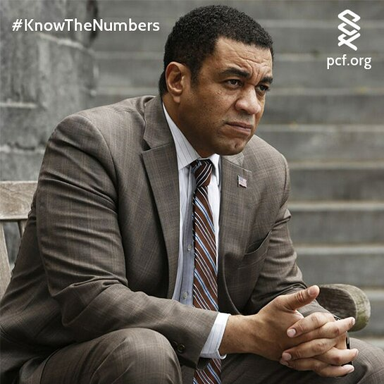 Join Harry Lennix in Challenging African American Men to Know the Numbers