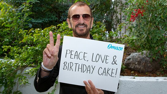 Celebrate Ringo Starr's Birthday with Him in LA