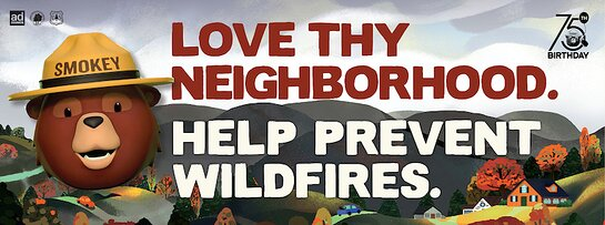 Smokey Bear - Love Thy Neighbor