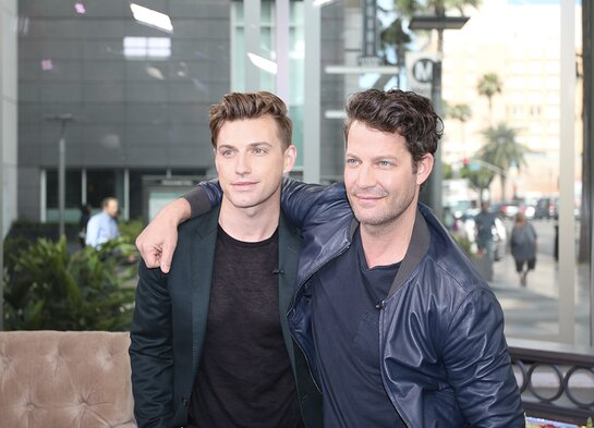 Nate Berkus and Jeremiah Brent, of the hit TLC show Nate & Jeremiah by Design