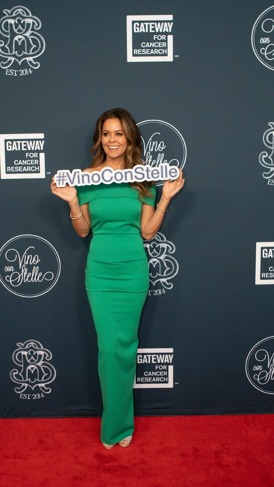 Brooke Burke Attends Gateway for Cancer Research Event