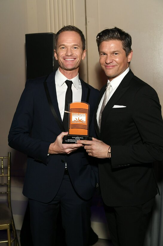 Neil Patrick Harris and David Burtka at 2019 Can Do Awards Dinner