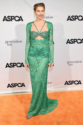 Jessica Hart Attends ASPCA Bergh Ball