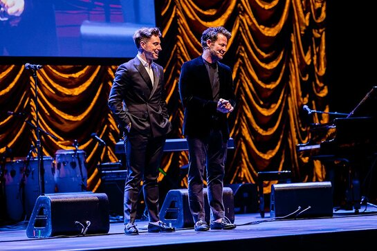 Jeremiah Brent and Nate Berkus - Master of Ceremonies