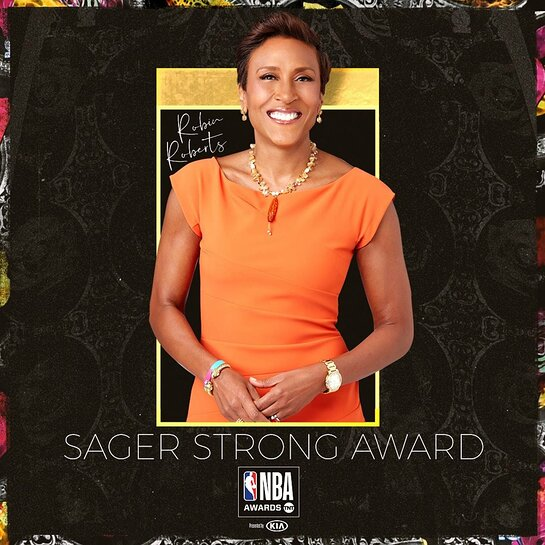 Robin Roberts to be Honored with Sager Strong Award