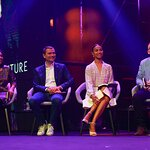 Zoe Saldana Supports Social Startups at Final of Chivas Venture