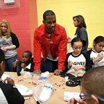 Victor Cruz Kicks Off DSW's Shoe Donation Summer Campaign