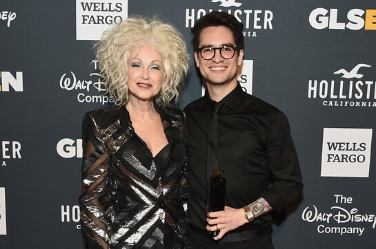 Cyndi Lauper and Brendon Urie