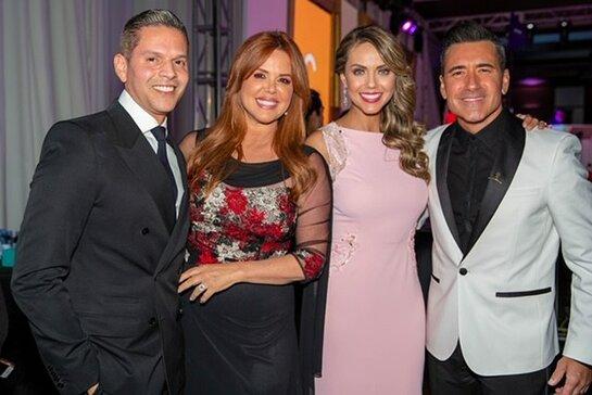 Rodner Figueroa, Maria Celeste Arraras, Jessica Carillo and Jorge Bernal