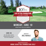 Joel McHale To Host SAG-AFTRA Foundation's 10th Annual LA Golf Classic