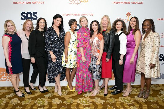 Attendees at Step Up Inspiration Awards