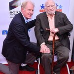 Ed Asner Joined by Celebrity Friends at Poker Tournament