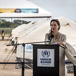 Angelina Jolie Visits Colombia With UNHCR