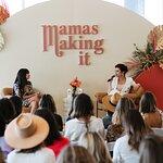 Tiffani Thiessen Delivers Keynote Address at Mamas Making It Summit