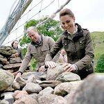 The Duke and Duchess of Cambridge Visit Farming Communities In Cumbria