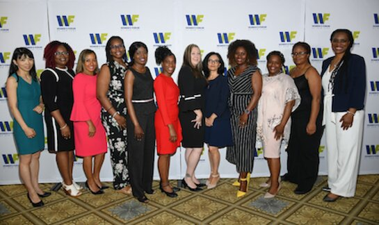 The 2018 Women's Forum of New York Education Award Fellows