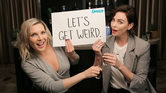 Join Charlize Theron and June Diane Raphael for a Debaucherous Night of Karaoke