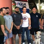 Mark Wahlberg Encourages Wounded Warriors to Get Active during F45 Training Session