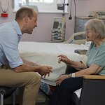 Duke of Cambridge Visits The Royal Marsden