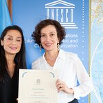 Nadia Nadim Named UNESCO Champion for Girls' and Women's Education