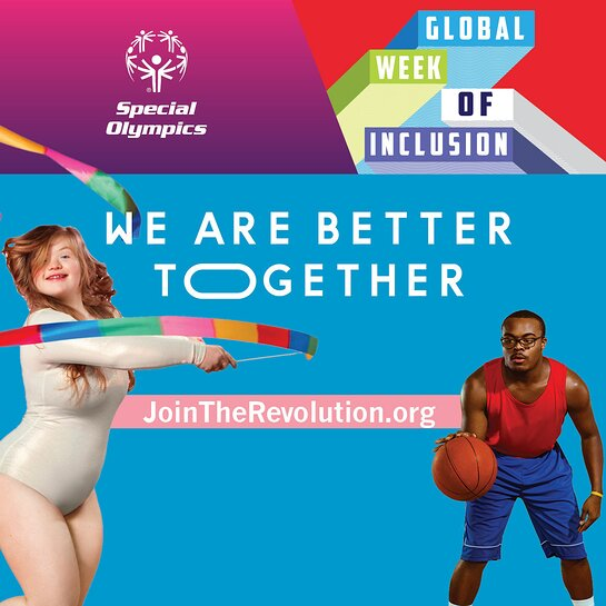 Special Olympics Continues The Revolution is Inclusion Campaign