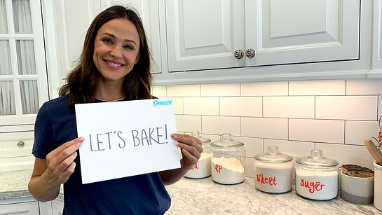 Bake Cookies With Jennifer Garner