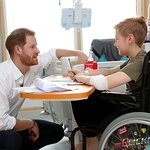 Prince Harry Visits Charities In Sheffield