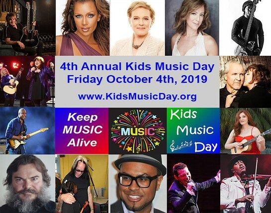 Kids Music Day Ambassadors
