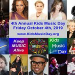 4th Annual Kids Music Day; Friday, October 4th