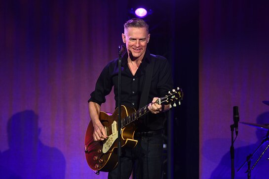 Bryan Adams performing at PCF Annual Gala in the Hamptons