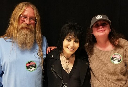 Joan Jett with WOLF Staff and Volunteers