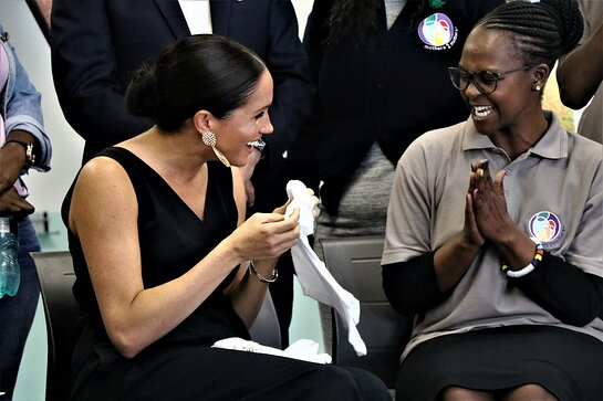 Duchess of Sussex Visits M2M in Cape Town