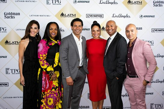 Maria Melton, Kim Bondy, Jon Huertas, Soledad O'Brien, William Figueroa.