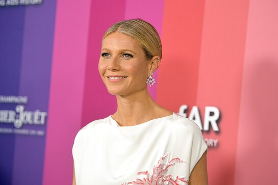 Gwyneth Paltrow attends amfAR Gala Los Angeles