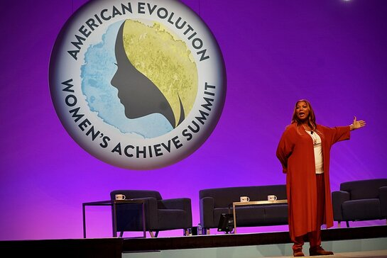 Queen Latifah hosted the Women's Achieve Summit
