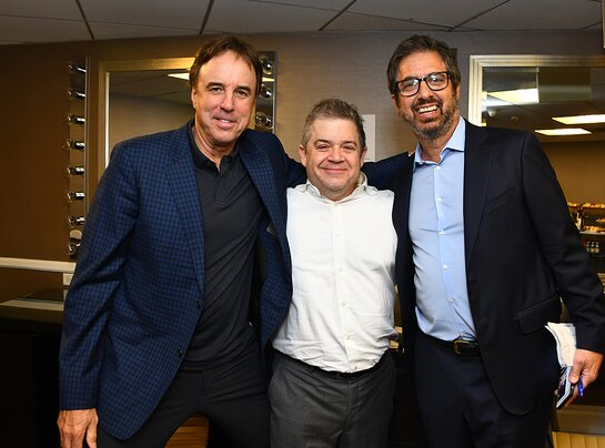 Kevin Nealon, Patton Oswalt and Ray Romano attend the International Myeloma Foundation 13th Annual Comedy Celebration