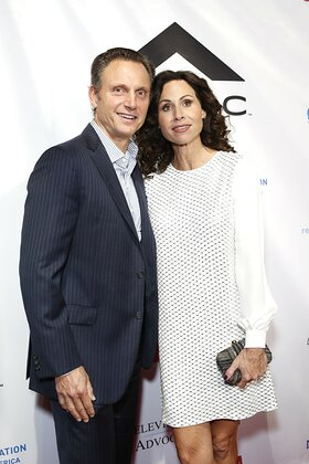 Tony Goldwyn and Minnie Driver