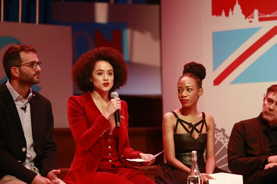 Nathalie Emmanuel Joins Future Leaders at One Young World Summit in London