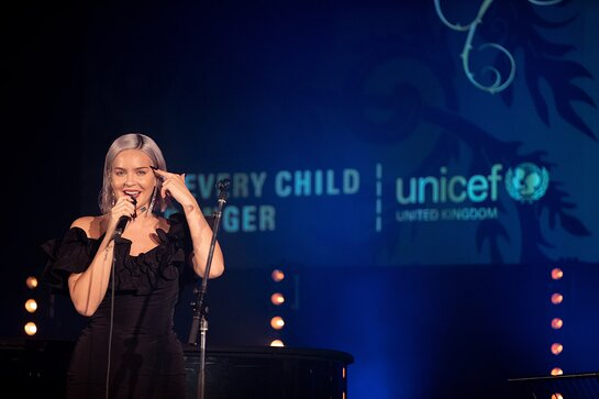 Anne-Marie Performs at Unicef UK's Halloween Ball