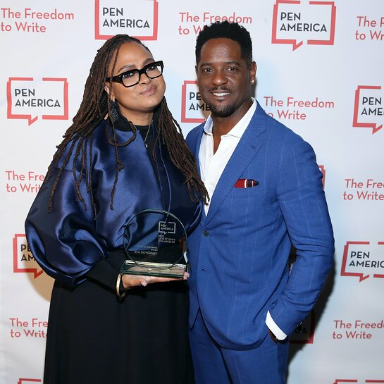 Blair Underwood and Ava DuVernay